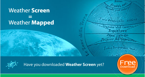 Access weather maps, weather radars, satellite images