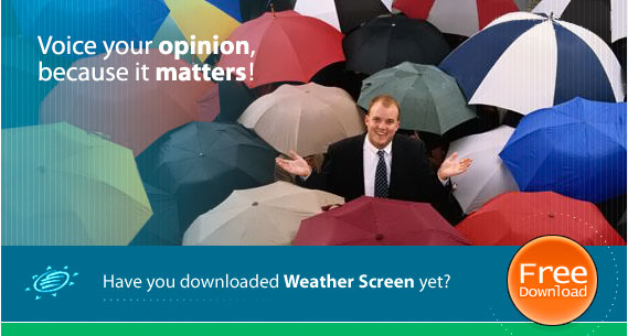Our users comment on Weather Screen