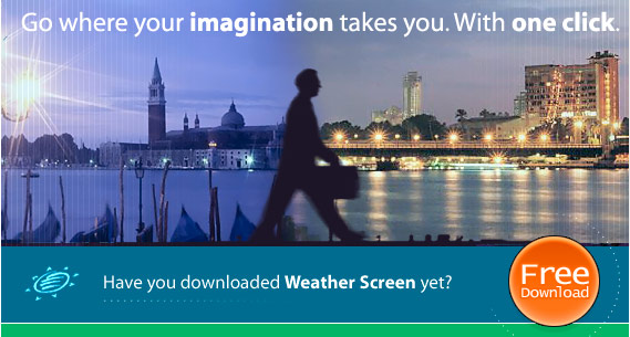 Weather Screen Live Web cams will help